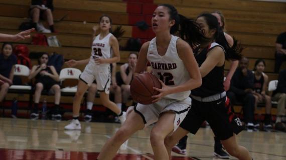 Girls' basketball notches fifth league win