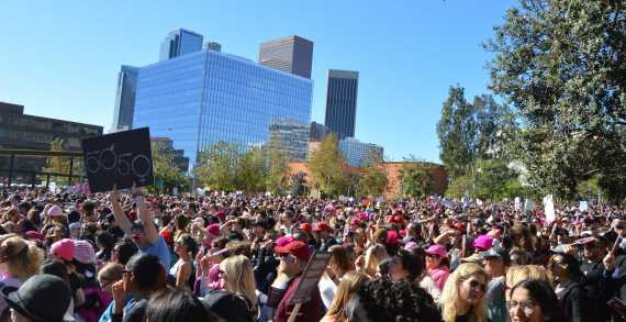 Students advocate for intersectional feminism at 2018 Women's March
