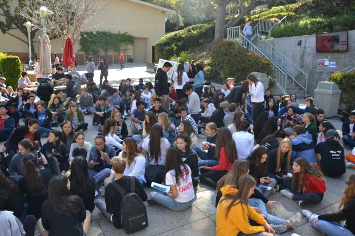 National school walk out calls for change