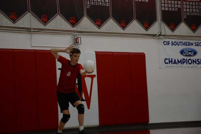 Boys' volleyball drops match to Loyola