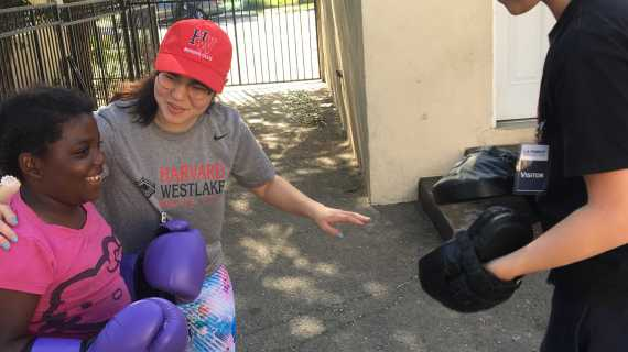 Boxing Club laces up to fight homelessness