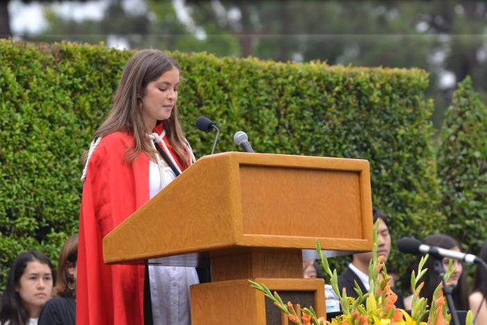 Prefects emphasize self acceptance, courage at sixth annual all-school convocation