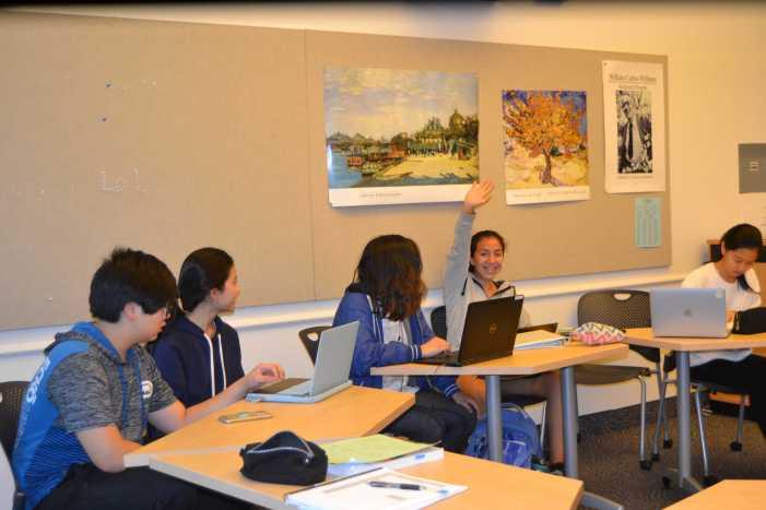 Teachers address midterms in class