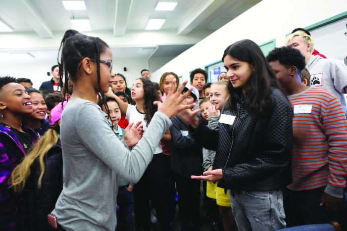 Applicants participate in multicultural fair