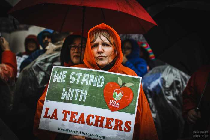 When It Rains, It Pours: UTLA teachers go on strike against LAUSD