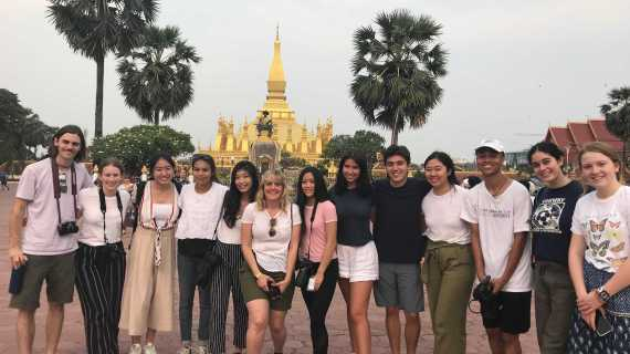 Students create films, study culture in Laos