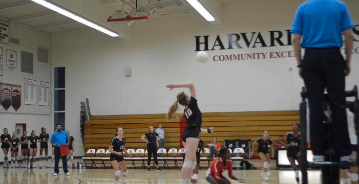 Girls' volleyball falls to Flintridge Sacred Heart
