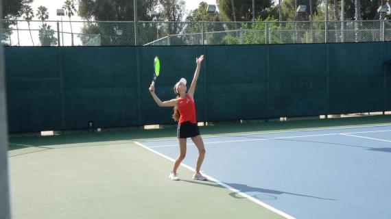 Girls' tennis loses season opener