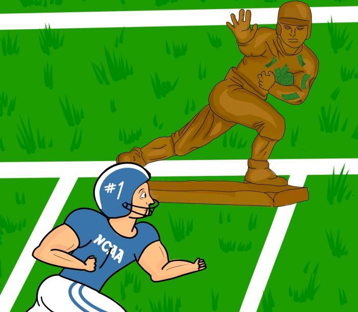 Endorsing college athletes