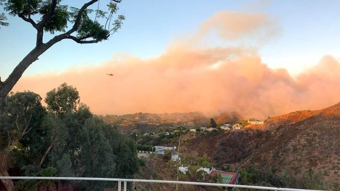 Getty Fire prompts school closure