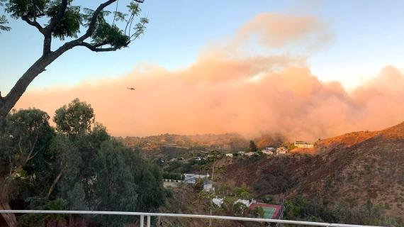Getty Fire prompts school closure