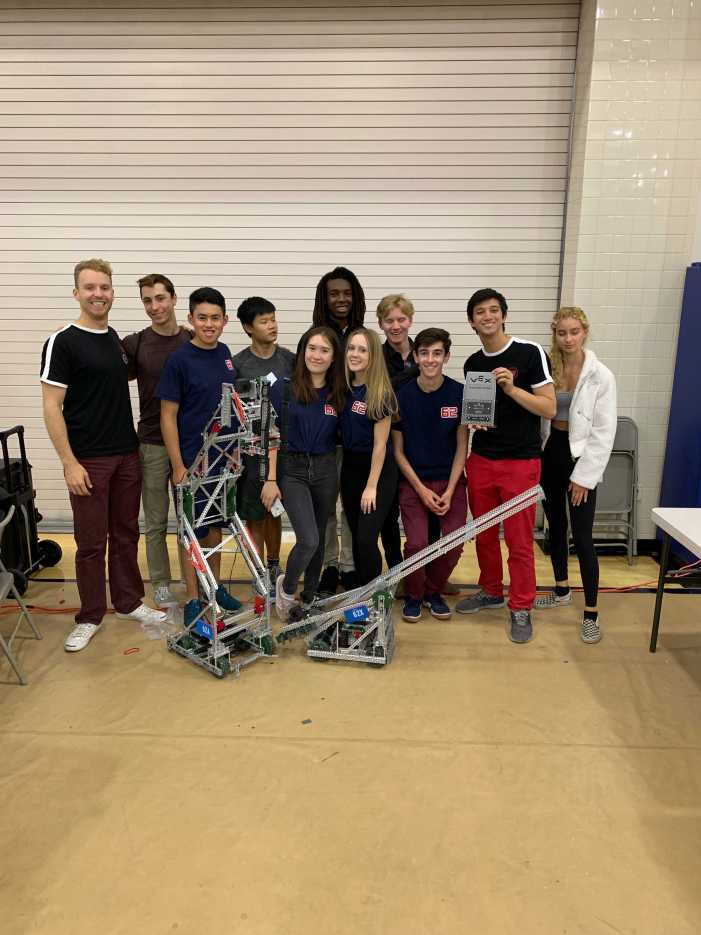 Robotics subteam 62X qualifies for state tournament
