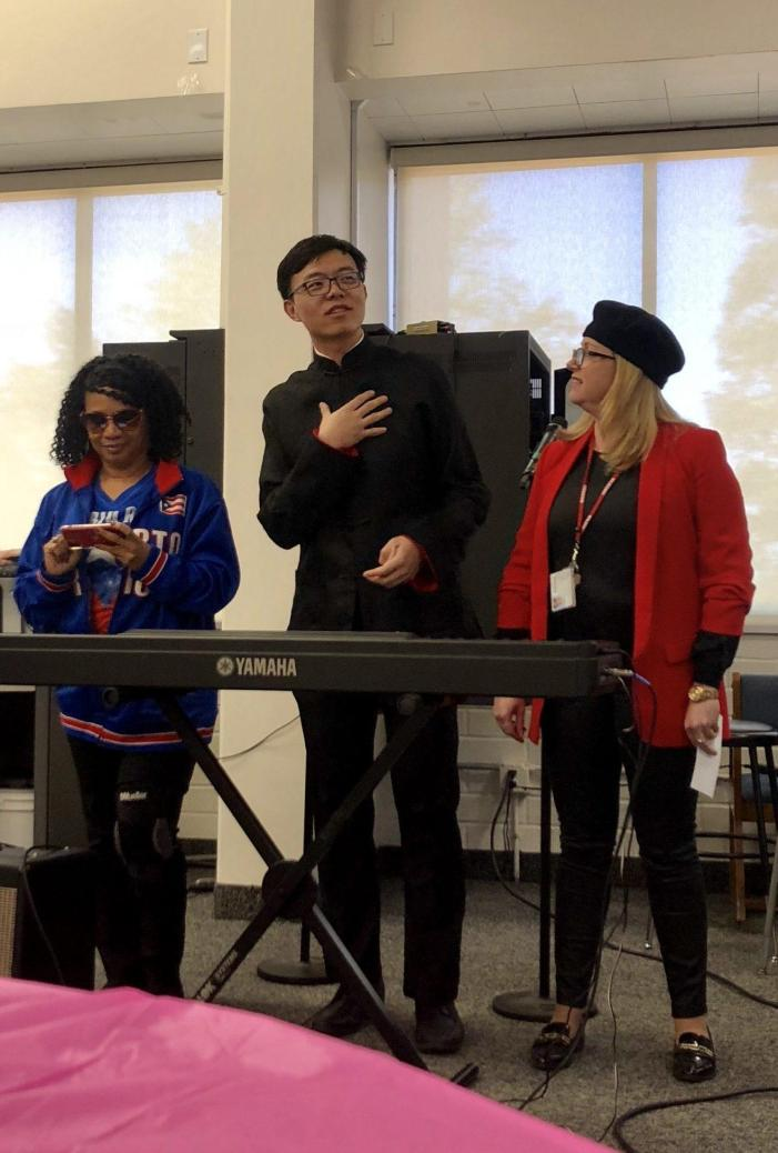 Students showcase their talents in February Coffeehouse