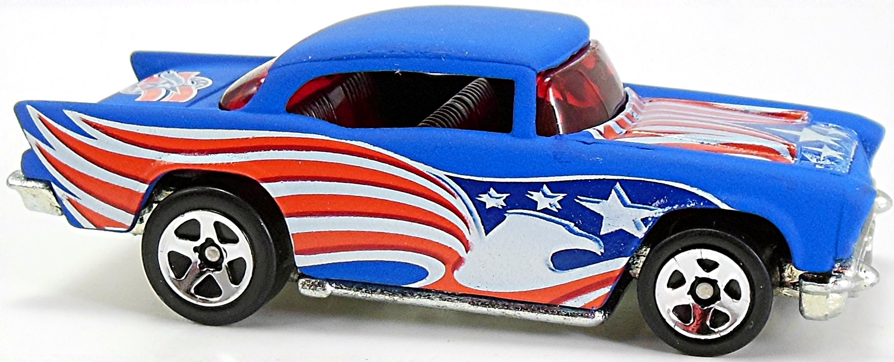 hight resolution of w3 flat blue as w silver painted base sp5 star spangled 125 factory sealed set 2004 5 10 x mf white flat black roof metal base