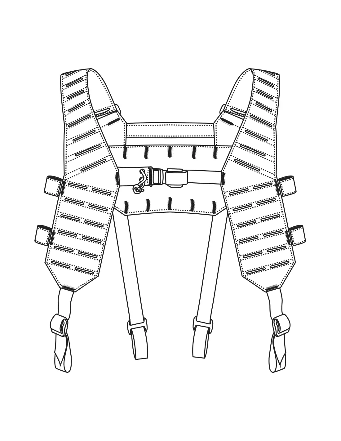 Mosquito H Harness