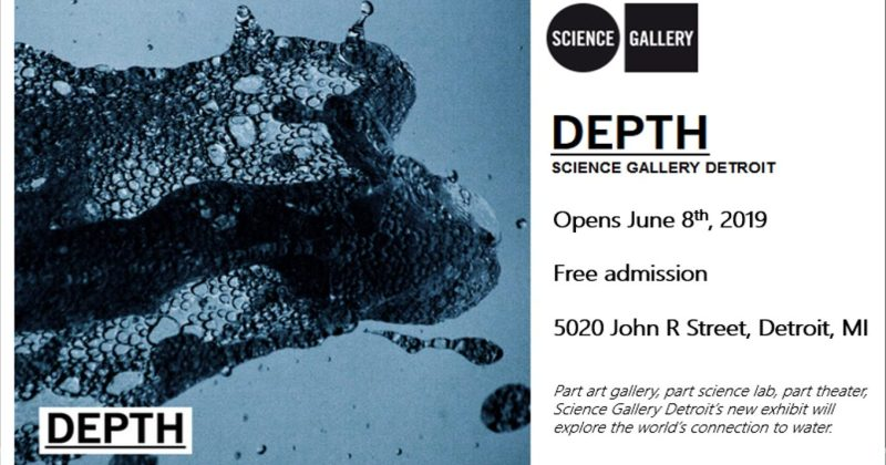 Depth Exhibit premieres at the Michigan Science Center