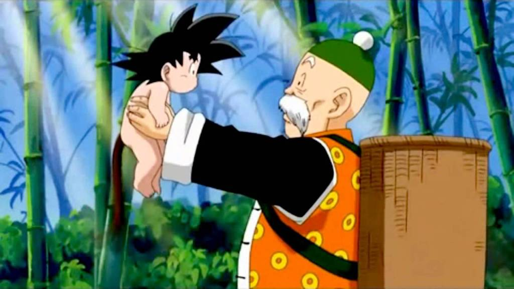 Grandpa Gohan for comparison