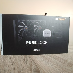 be quiet! pure loop front of box