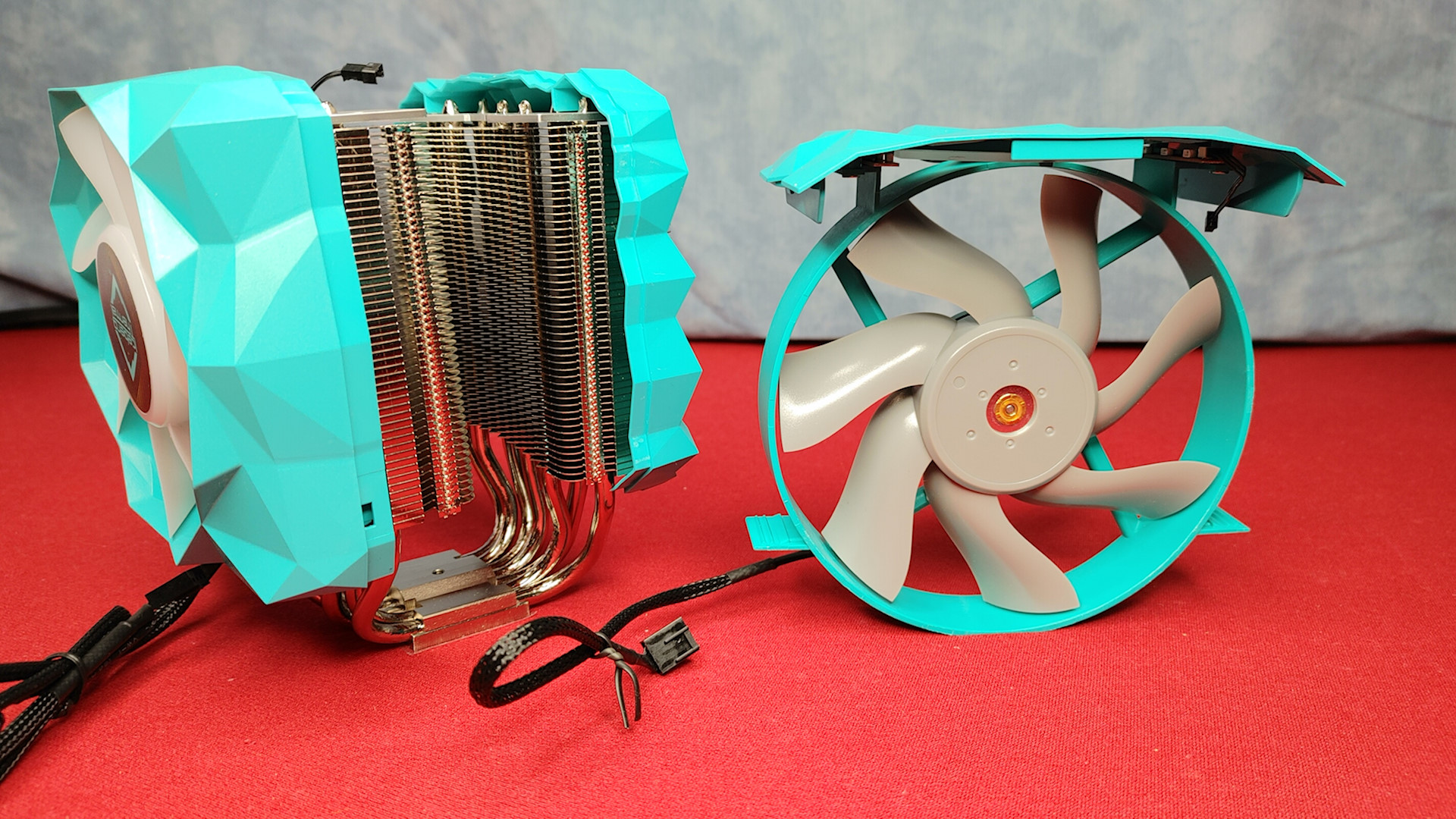 Cooler and 140mm fan