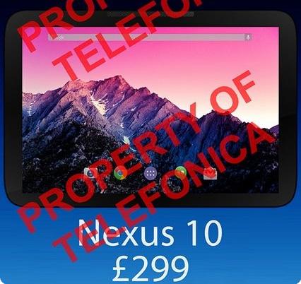 nexus-10-fiyat