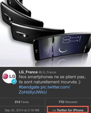 LG G Flex skandalı!