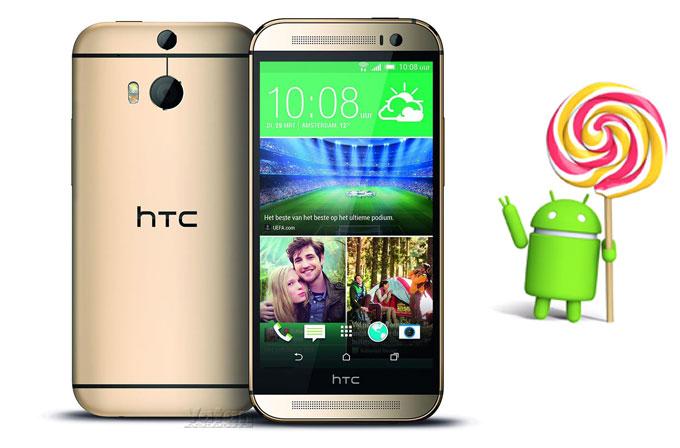 HTC One M8 ve M7'nin lollipop güncellemesi için geri sayım  başladı
