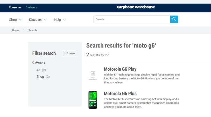 Moto G6 Plus ve G6 Play
