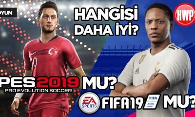FIFA 19 mu? PES 2019 mu?