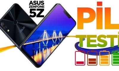 Asus ZenFone 5Z Pil Testi