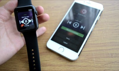 Spotify Apple Watch uygulaması