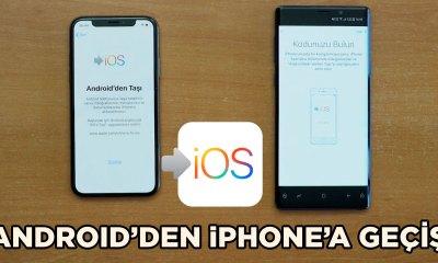 Eski Android telefondan iPhone'a nasıl geçilir? (iPhone XS)