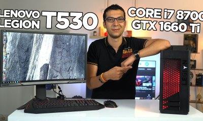 Hazır ve şık GTX 1660 Ti sistem: Lenovo Legion T530