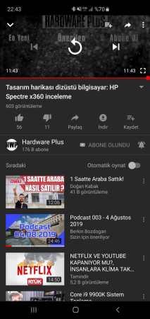 youtube otomatik oynatma