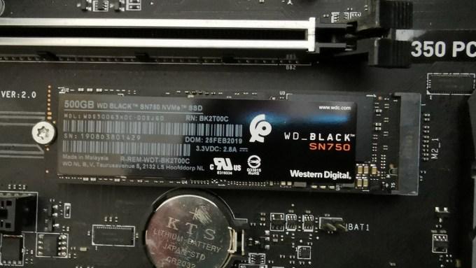 WD Black SN750 NVMe SSD incelemesi 3