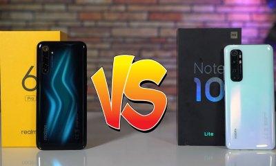 Xiaomi Mi Note 10 Lite vs Realme 6 Pro