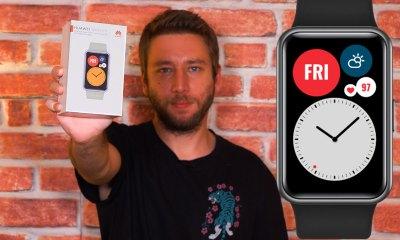 Huawei Watch Fit kutu açılışı