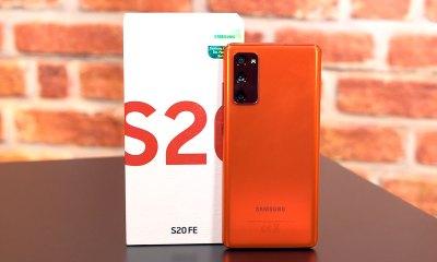 Samsung Galaxy S20 FE kutu açılışı