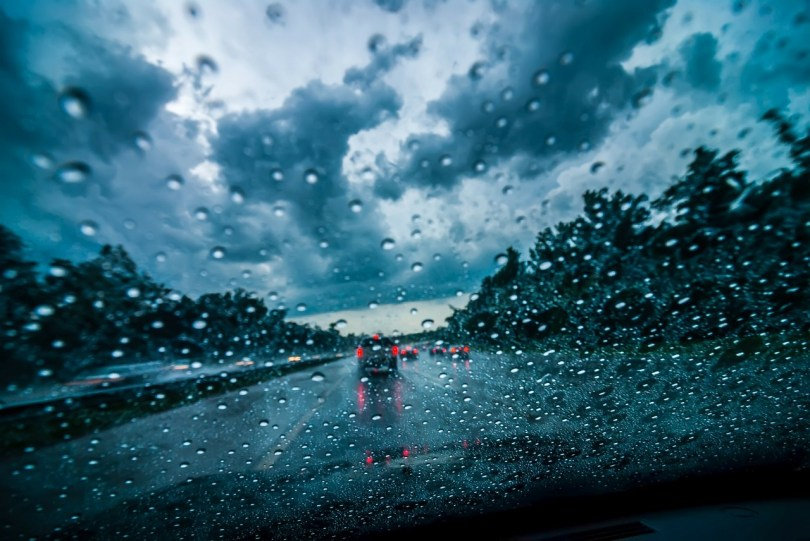 Image result for driving in the rain