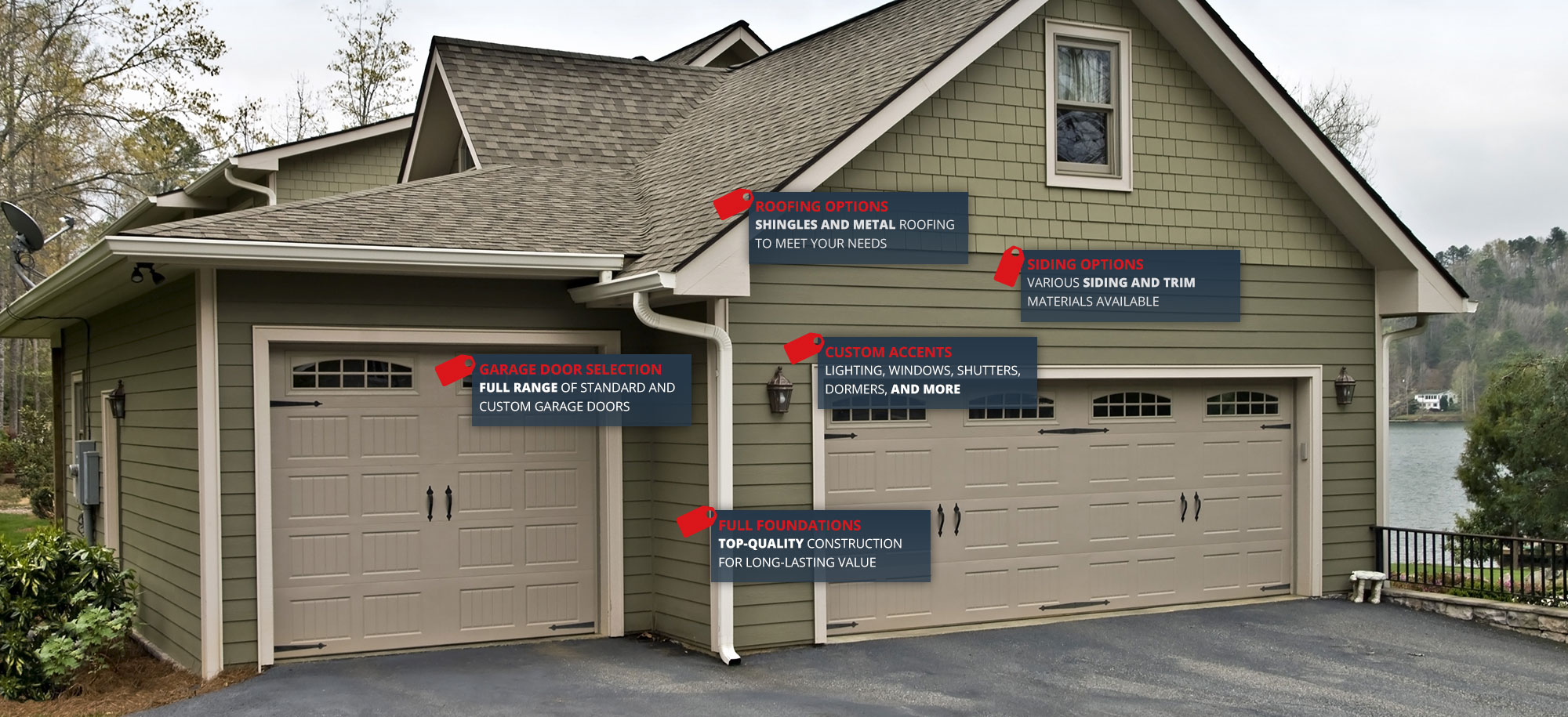 Custom Garage Builders Raleigh, Nc, Wake Forest, Cary Hws