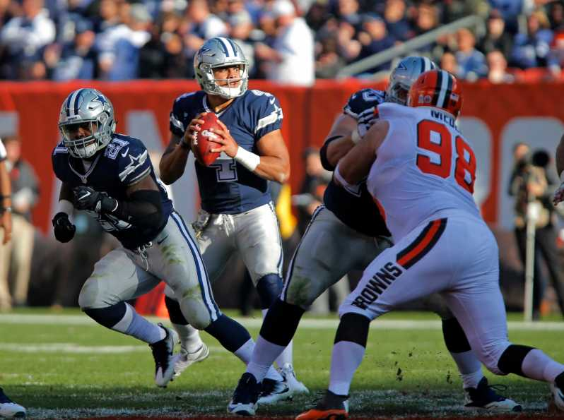 Dallas Cowboys vs. Cleveland Browns