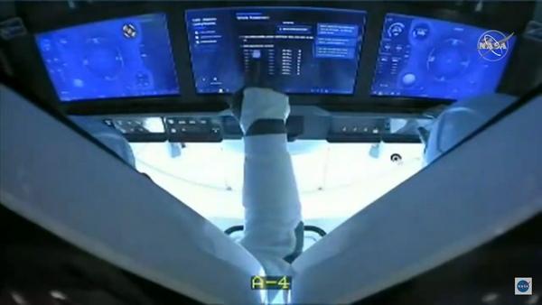 crew dragon demo-2 splashdown