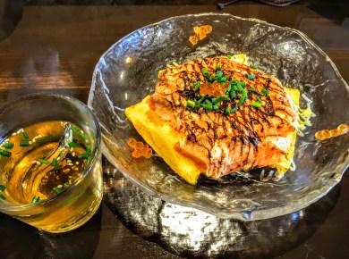 サーモン炙り ¥900