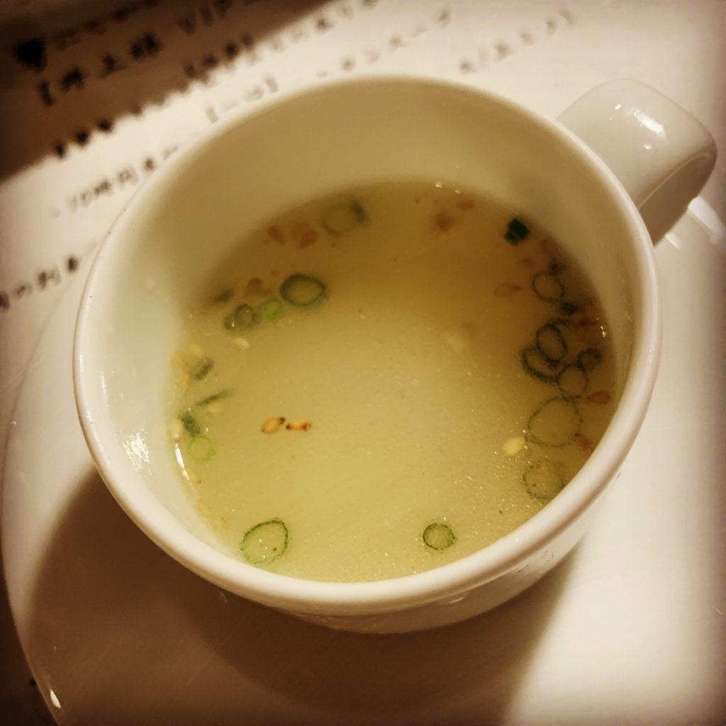 【一口】10時間煮込んだ熱々コムタンスープ