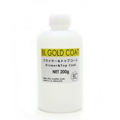 BL Gold Coat / Top Clear : 100g in English