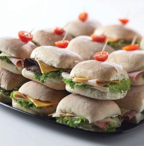 Shop Catering  Cocktail Sandwich & Condiment Platters