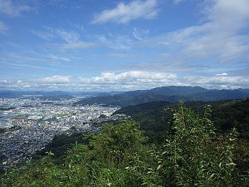 愛宕神社からの展望