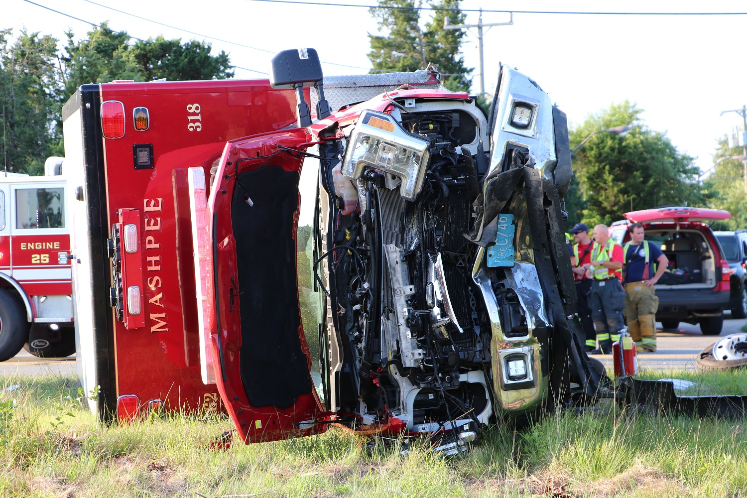 SHOCKING CRASH VIDEO: Ambulance rolls over with patient