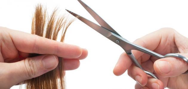 ماذا يعني قص الشعر في المنام حياتك