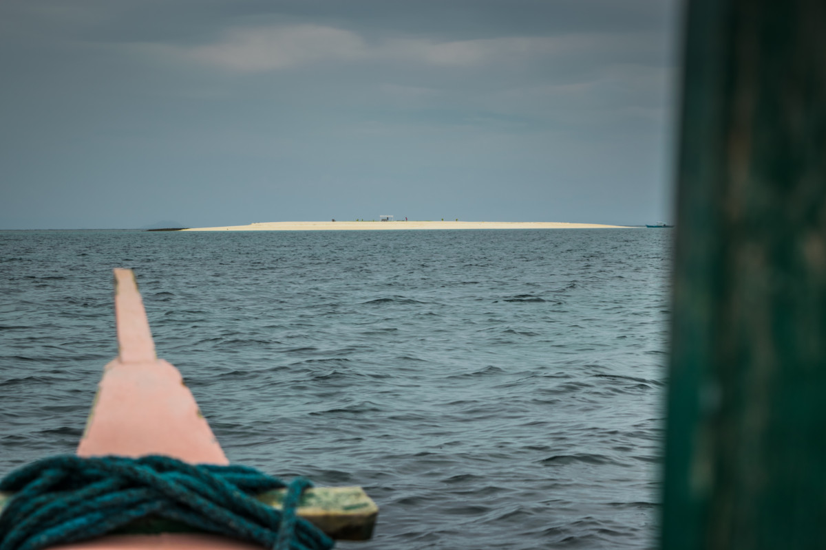Naked Island - pri island hoppingu