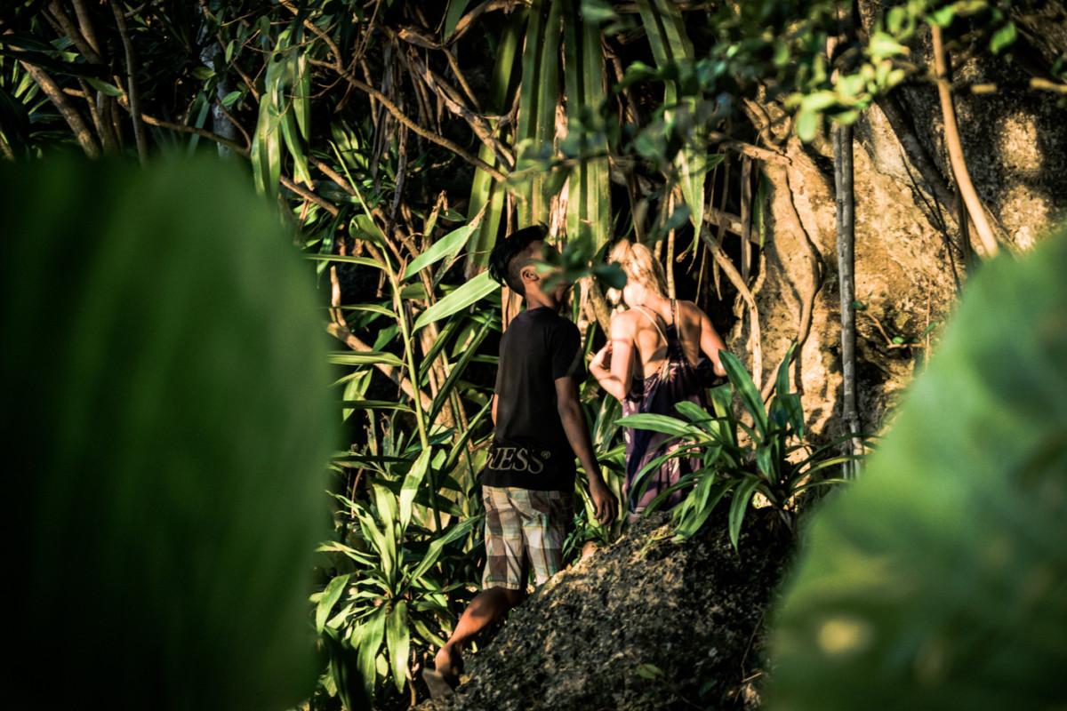 Cesta džunglou na Hagukan